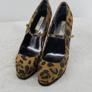 """Simply Vera Vera Wang Cheetah Print 4 1/2"""" Heels"""